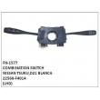 22560-F4014, COMBINATION SWITCH, FN-1577 for NISSAN TSURU,D21 BLANCA