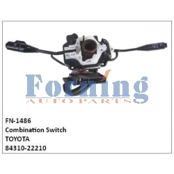 84310-22210,Combination Switch, FN-1486 for TOYOTA