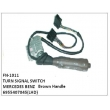 6955407045, TURN SIGNAL SWITCH, FN-1011 for MERCEDES BENZ (Brown Handle)