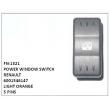 6001546147, LIGHT ORANGE, POWER WINDOW SWITCH, FN-1321 for RENAULT
