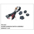POWER WINDOW SWITCH ASSEMBLY, FN-1315 for RENAULT  CLIO