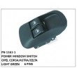 LIGHT GREEN, POWER WINDOW SWITCH, FN-1161-1 for OPEL CORSA/ASTRA/CELTA