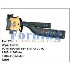 95VB-11665-AA, 90BG-11K-665CD Wiper Switch, FN-1174 for FORD TRANSIT 91~, SIERRA 91~92