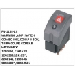 1241661,1241673,1241289,1241637,6240141, 9138046, 90436897, 90434501, WARNING LAMP SWITCH, FN-1138-13 for COMBO BOX, CORSA B BOX, TIGRA COUPE, CORSA B HATCHBACK