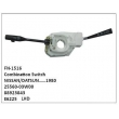 25560-03W00, 88923843,E6225,COMBINATION SWITCH,FN-1516 for NISSAN/DATSUN……1980.LHD
