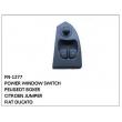 POWER WINDOW SWITCH, FN-1277 for PEUGEOT BOXER , CITROEN JUMPER, FIAT DUCATO