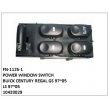10433029, FRONT LEFT MULTI-BUTTON, FN-1125-1 for BUICK CENTURY REGAL GS 97~05,LS 97~05