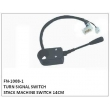 TURN SIGNAL SWITCH, FN-1008-1 for STACK MACHINE SWITCH 14CM