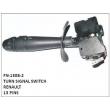 TURN SIGNAL SWITCH, FN-1308-2 for  RENAULT