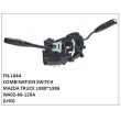 WA02-66-120A,COMBINATION SWITCH,FN-1644 for MAZDA TRUCK 1980~1986