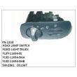 YL3T-11654-BJ, YL3Z-11654-BAA, YL3Z-11654-BAB, SW-2861, DS1367 HEAD LAMP SWITCH FN-1224 for FORD LIGHT TRUCK