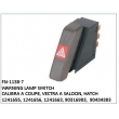 12 41 655, 12 41 656, 12 41 663, 90316903, 90434383, WARNING LAMP SWITCH, FN-1138-7 for CALIBRA A COUPE, VECTRA A SALOON, HATCH