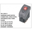1241661,1241673,1241289,121637,6240141,9138046, 90436897, 90434501, WARNING LAMP SWITCH, FN-1138-11 for COMBO BOX, CORSA B BOX, HATCHBACK, BOX, TIGRA COUPE