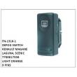 7700817338, LIGHT ORANGE, DEFOG SWITCH, FN-1316-1 for RENAULT MAGANE, LAGUNA, SCENIC