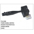 25560-D4500, TURN SIGNAL SWITCH, FN-1568 for NISSAN 720 BIGM D21