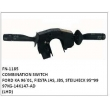 97KG-14K147-AD COMBINATION SWITCH, FN-1185 for FORD KA 96`01, FIESTA JAS, JBS, STEILHECK 95~99