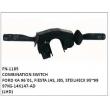 97KG-14K147-AD COMBINATION SWITCH, FN-1185 for FORD KA 96`01, FIESTA JAS, JBS, STEILHECK 95~99