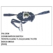 84310-0B010, COMBINATION SWITCH, FN-1506 for TOYOTA KIJANG 7L DLX,KIJANG 7K STD