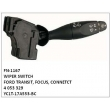 4053329, YC1T-17A553-BC WIPER SWITCH, FN-1167	for	FORD TRANSIT, FOCUS, CONNETCT