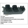 84820-0D180,POWER WINDOW SWITCH, FN-1563 for TOYOTA ,YARIS/COROLLA/CAMRY/HIGHLANDER/VIOS 2008 RAV4 2009