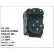 9420239908, MIRROR SWITCH, FN-1265 for PEUGEOT 405, 1.6 1998, 1.8 1998, PEUGEOT 206