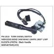 6885407045, TURN SIGNAL SWITCH, FN-1010 for MERCEDES BENZ CAMINHAO LN HPN 1993~ LIMP BUZ SETA (PRETA Black Handle)