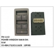 VS-40A173,92111628, POWER WINDOW MAIN SW, FN-1113 for G.M