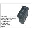 7700817339, LIGHT ORANGE, POWER WINDOW SWITCH, FN-1295-2 for RENAULT MAGANE, LAGUNA, SCENIC