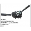 G114-66-120C,COMBINATION SWITCH,FN-1635-1 for MAZDA 323 1.3/1.5 1986~1989