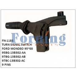 95BG-13B302-AA, 97BG-13B302-AB, 97BC-13B302-AC TURN SIGNAL SWITCH, FN-1188 for FORD MONDEO 95~00