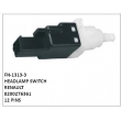8200276361, HEADLAMP SWITCH, FN-1313-3 for RENAULT