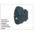 7700841243, LIGHT ORANGE, FOG SWITCH, FN-1316-3 for RENAULT