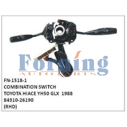 84310-26190, COMBINATION SWITCH, FN-1518-1 for TOYOTA HIACE YH50 GLX  1988