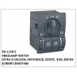6240097,90437440, HEADLAMP  SWITCH, FN-1139-5 for ASTRA G SALOON, HATCHBACK, ESTATE,  BOX, ZAFIRA