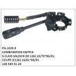 1265453124, COMBINATION SWITCH, FN-1029-9 for S-CLASS SALOON (W 126) 10/79~06/91, COUPE (C126) 10/81` 06/91