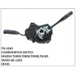 WAZO-66-120A,COMBINATION,SWITCH,FN-1643 for MAZDA T2000,T3000,T3500,T4100