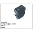 POWER WINDOW SWITCH, FN-1295-3 for RENAULT