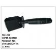 WIPER SWITCH, FN-1240 for PEUGEOT 406, CITROEN XANTIA