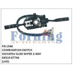84310-87744,COMBINATION SWITCH, FN-1546 for DAIHATSU G100 WIPER 2-WAY
