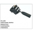510033426501, 7700765531, TURN SIGNAL SWITCH, FN-1299 for RENAULT R21
