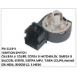 0914856, 90505912, 914856, IGNITION SWITCH, FN-1138-5 for CALIBRA A COUPE, CORSA B HATCHBACK, OMEGA B SALOON, ESTATE, SINTRA MPV, TIGRA COUPE, VECTRA B