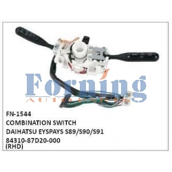 84310-87D20-000, COMBINATION SWITCH, FN-1544 for DAIHATSU EYSPAYS S89/S90/S91
