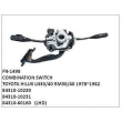 84310-10230, 84310-10231, 84310-60160, COMBINATION SWITCH, FN-1498 for TOYOTA HILUX LN30/40 RM30/40 1978~1982