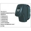 7700410151, 7700436524, 7700307605, 7700838100, LIGHT ORANGE, POWER WINDOW SWITCH, FN-1312-2 for RENAULT
