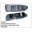 MR587943,POWER WINDOW SWITCH,FN-1633 for MITSUBISHI LANCER 2004~2007