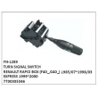 7700305346, TURN SIGNAL SWITCH, FN-1289 for RENAULT, RAPID BOX (F40_,G40_) 1985/07~1998/03, EXPRESS 1999~2000