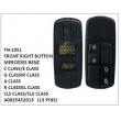 A0025452013, FRONT RIGHT BUTTON, FN-1051 for MERCEDES BENZ, C CLASS/E CLASS/G CLASS, M CLASS/A CLASS/R CLASS, GL CLASS/CLS CLASS/CLK CLASS