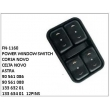 90561086,90561088,13363201,13363401,POWER WINDOW SWITCH, FN-1160 for CORSA NOVO, CELTA NOVO, ASTRA