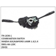 B001-66-120C,COMBINATION SWITCH,FN-1636-1 for MAZDA 323/626,FORD LASER 1.3/1.5