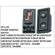 22071973, SW4488, POWER WINDOW SWITCH, FN-1143 for GMC YUKON 92~94